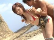Mai Hanano Sex On The Beach Uncensored JAV