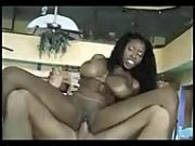 Two Black Milfs for a Fucking Lucky White Dick