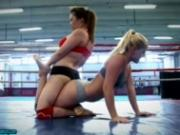 Boxing Babes get naughty inside the ring