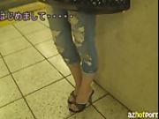 AzHotPorn.com - Hot Wife Meis Seductive White Shirt