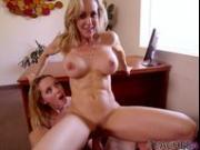 Brandi Love, Hollie Mack Trying Threesome Fun