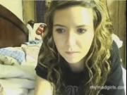 Amelia seduces and masturbate on cam