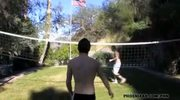 Volleyball turns to ball play
