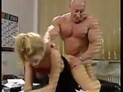 German Bodybuilder Steffen Mueller fuck Joy in 6 sexy sex stories