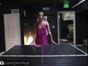 BANG Real Teens: Cute, Innocent SoCal Teen Loses at Flash-Pong