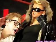 Lesbian euro glam hoes love bukkake