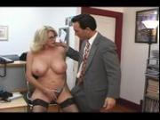 Busty Broads In Uniform - Scene 3