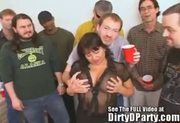 Busty Milf Susie's Gang Bang Bukkake Party with Dirty D