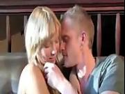 Teen blonde couple