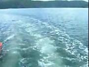 Female teen nudist river trip