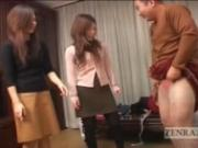 Cross Dressing Japanese Femdom in Drag and Bad Makeup