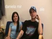 Daniela Mir and Alejandro