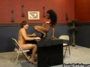 Intense Groupsex Squirting