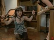 Seda gets punished and humiliated by naughty librarian Bobbi Starr.