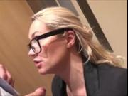 naughty-hotties.net - lana co-worker elevator