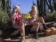 2 blonde lesbians