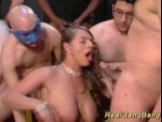 big breast stepmoms first real ganbang