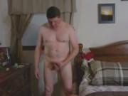 strip and jackoff with cum shot