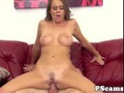 Pornstar Alexis Adams pounded on webcam show