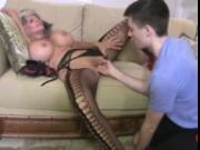 Hot Cougar Fucks A Young Guy