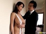 AzHotPorn.com - ultra Big Breasts Busty Asian Gal