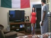 Hidden cam caught italian cheating wife fucks with stranger