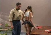 Schoolgirl Gia Paloma gets punished