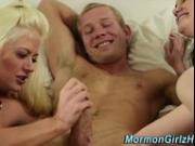 Mormon amateurs 3way cum