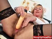 Well-endowed amateur-mom Irma got extremly shaggy vagina