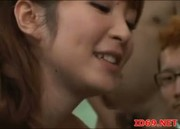 Japanese AV Model sucking cock