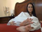 Karate foot amateur with slim arches