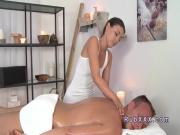 Sensual masseuse fucking dude