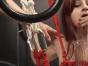 To much of rope and sleek BDSM submissive sex