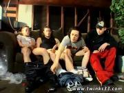 Young boy big dick cum gay Starring Jeremiah, Justin, Mike & Dobie