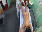 Doctor licks and fucks nurse