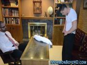 Mormon elder masturbates