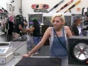 Blondie sells her BFs subwoofer speaker