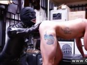 Nude public gays Dungeon tormentor with a gimp