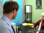 Skater gay twink movie first time Patrick is leaned over the desk with