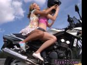 Talon sexy first time Young girly-girl biker girls