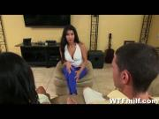 Latinas Jade Jantzen and Soffie Giving Blowjobs
