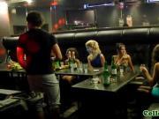 Euro college babes enjoying cock and cum