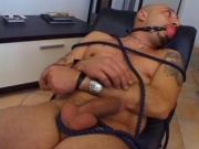 Kinky S&M bitches get drilled by thick cock and eat spunk