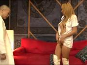 Tranny nurse Roxxy treats patient well