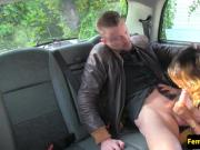 Ballsucked taxi passenger spoiled by cabbie