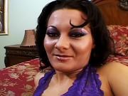 Horny POV latina enjoys sucking and fucking cock