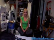 Blondie amateur rides rod