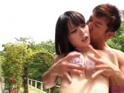 Bikini nippon babe pussy pounded outdoors