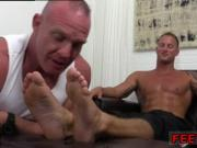 Indian male feet image gay full length Dev Worships Jason James' Manly