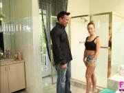 Hot deepthroater Cassidy Klein gets banged by Marco Banderas